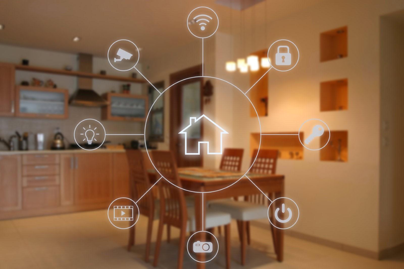 controle système domotique maison